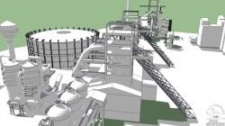 Vítkovické železárny 3D
